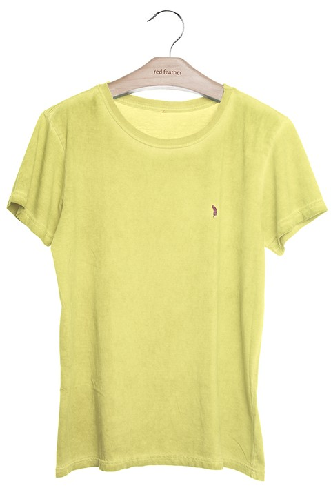 Camiseta Masculina Colors Amarela