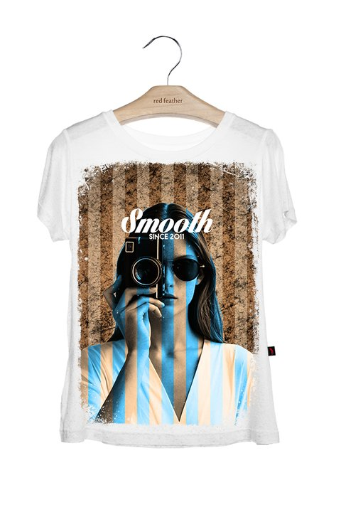 Camiseta Feminina Smooth