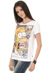 Camiseta Feminina Simpsons na internet