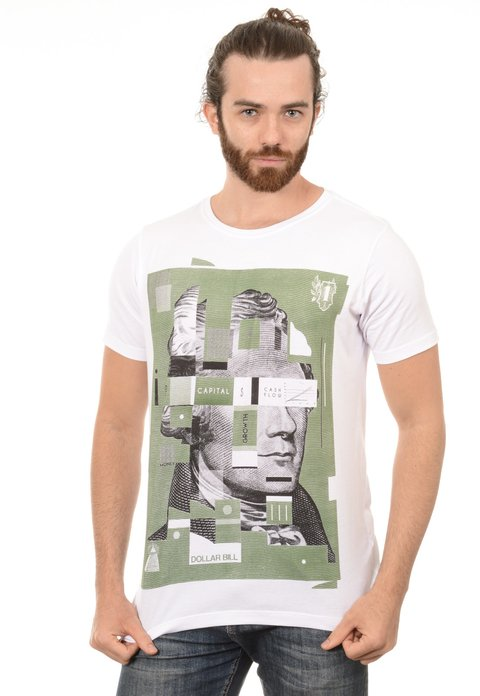 Camiseta Masculina Dollar Bill