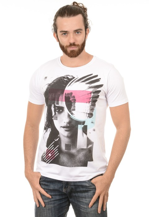 Camiseta Masuclina Freedom Wings