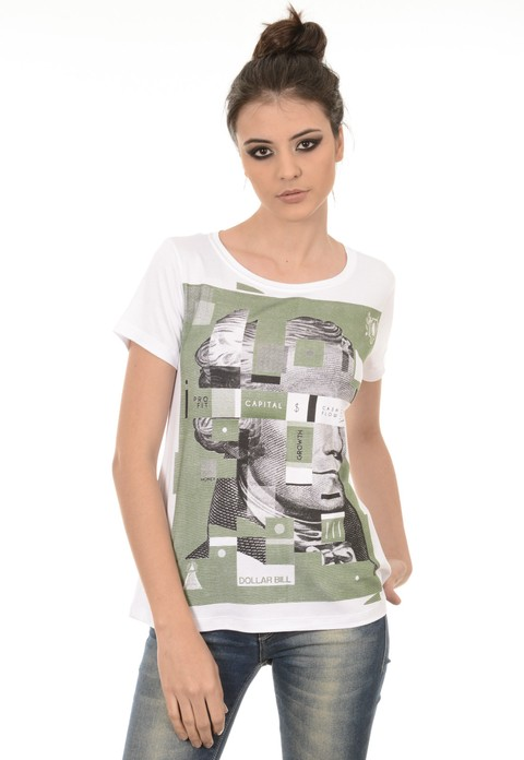 Camiseta Feminina Dollar Bill