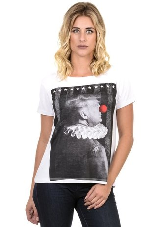 Camiseta Feminina Donald Clown