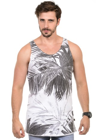 Camiseta Masculina Palm Leaves