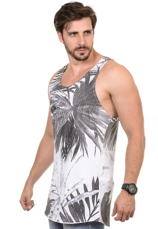 Camiseta Masculina Palm Leaves - comprar online