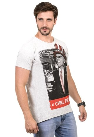 Camiseta Masculina Chill Time - comprar online