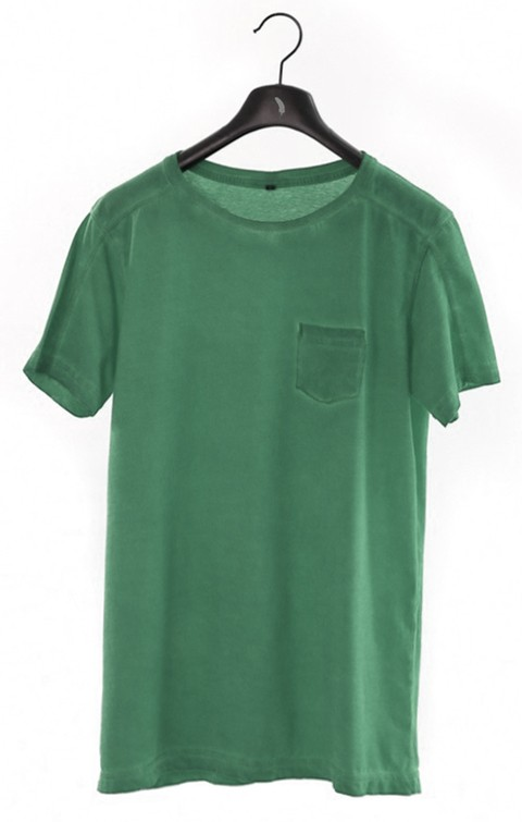 Camiseta Masculina Colors Oliva