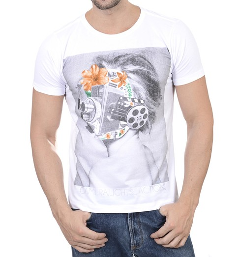 Camiseta Masculina Action