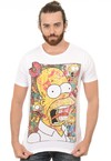 Camiseta Masculina Simpsons