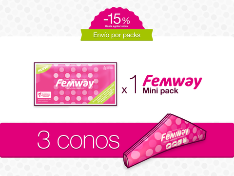 Femway Mini Pack (3 conos)