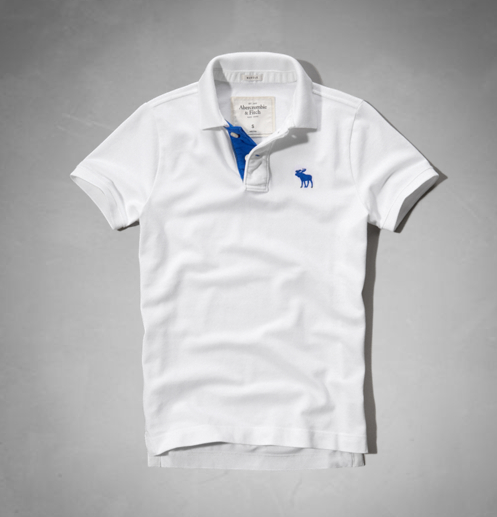 Camiseta Polo Masculina Abercrombie mod5055 - comprar online