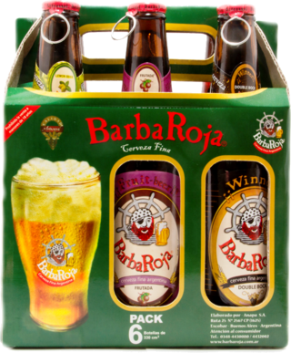 BarbaRoja® Six Pack c/ 6 botellas 330 cc. (811)
