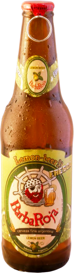 BarbaRoja® Cerveza Lemon x 330 ml.