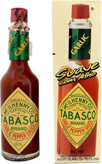 Tabasco Mcilhenny® Garlic 60 ml.