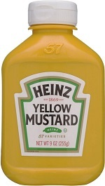 Heinz® mostaza pet x 255 ml