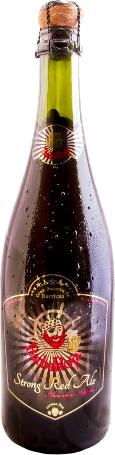 BarbaRoja® Cerveza Premium Strong Red Ale x 750 cc