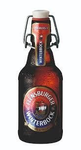 Flensburger winterbock, botella 330ml