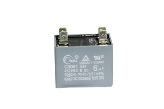CAPACITOR DO MOTOR 6UF - KOMECO ABP 09QC
