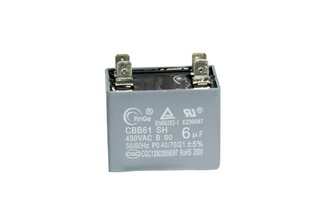 CAPACITOR DO MOTOR 6UF - KOMECO KOP 24QC 220V