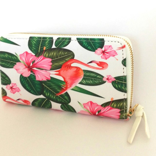 Billetera Tropical White - comprar online