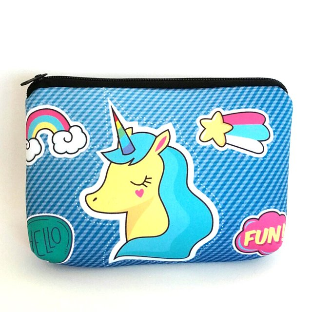 Necessaire Unicorn Blue