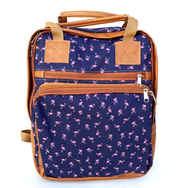 Mochila/Bolso Maternal Paz Azul Scissors Queens