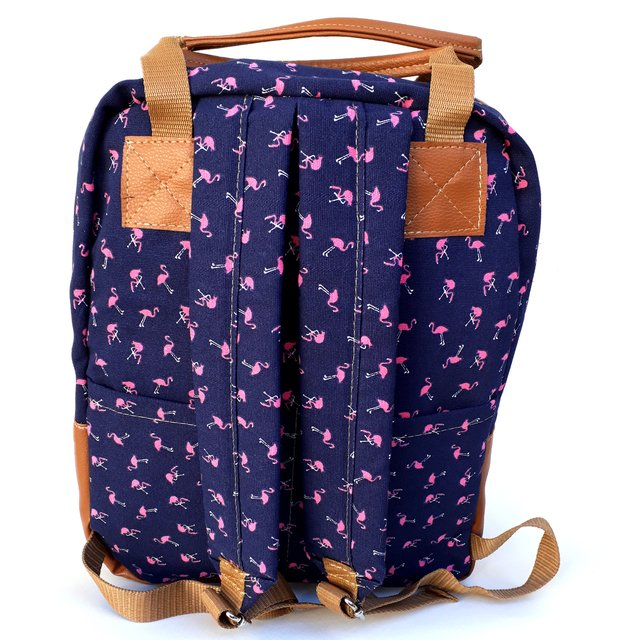 Mochila/Bolso Maternal Paz Azul Scissors Queens en internet