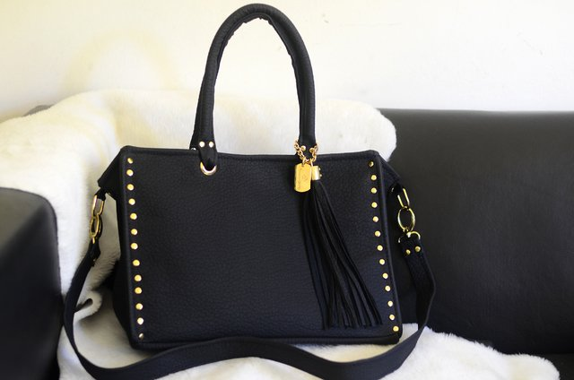 Cartera Diamond BLACK