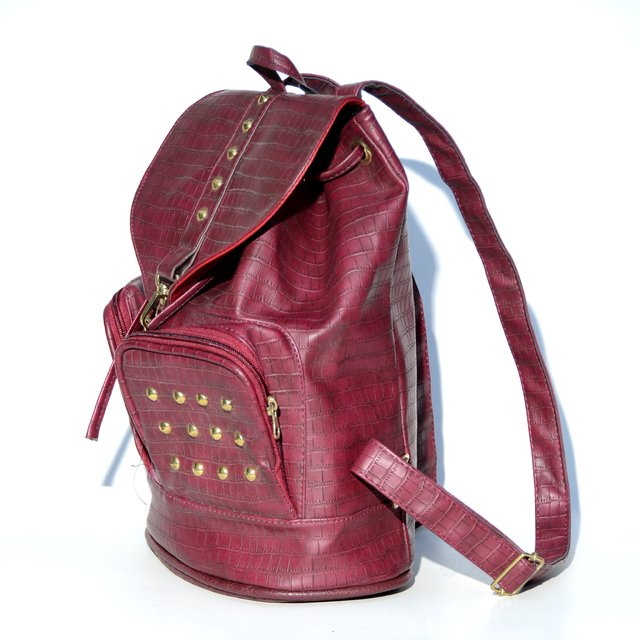 Mochila Star croco bordeaux en internet