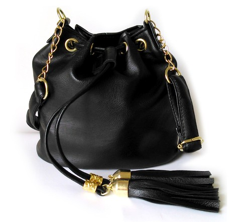 MINI BOLSO MARINERO NEGRO