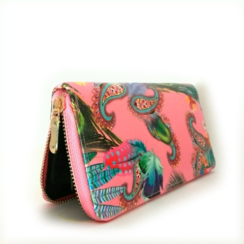 Billetera Tropical Pink - comprar online