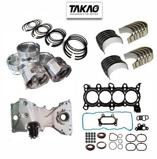 Kit retifica motor Honda New Civic 1.8 16v 2006... R18A6