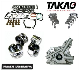 Kit retifica motor Honda Civic 1.7 16v D17Z