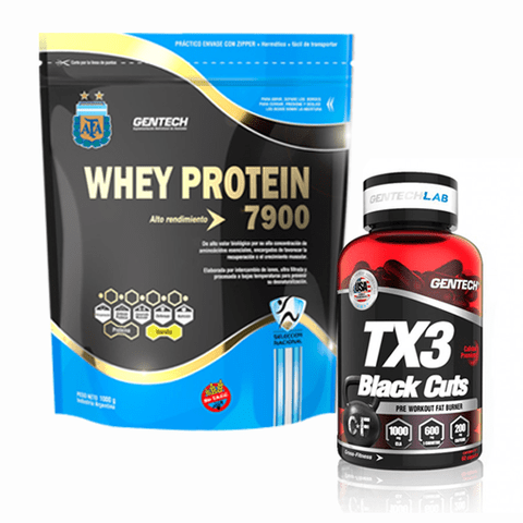 WHEY PROTEIN + TX3 BLACK OUT - GENTECH - comprar online
