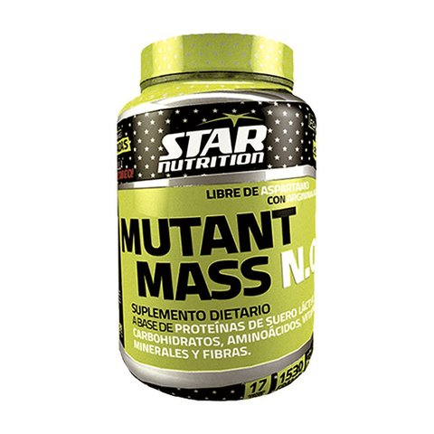 MUTANT MASS N.O. x 1,530 kg - STAR NUTRITION - comprar online
