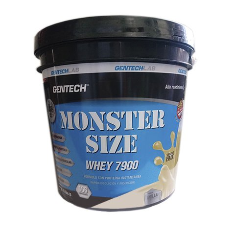 MONSTER SIZE WHEY 7900 x 5 kg - GENTECH