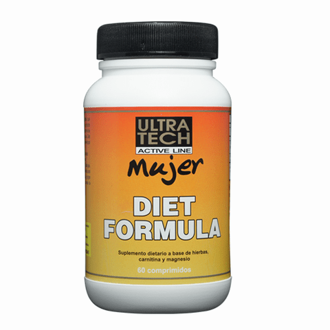 DIET FORMULA MUJER x 60 comprimidos - UltraTech Active Line
