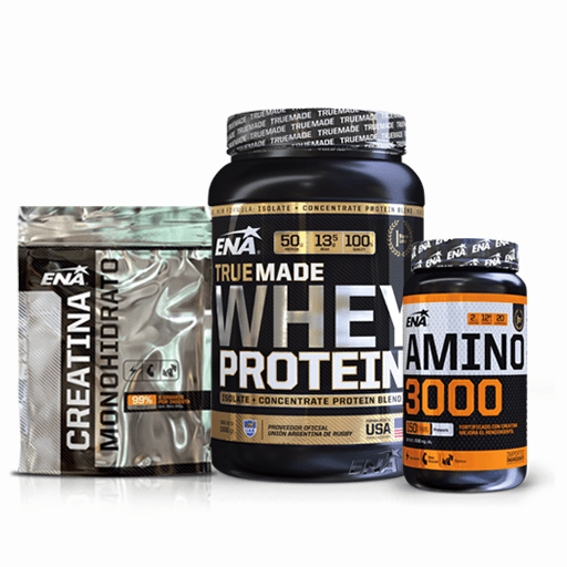 036966f58 PACK PROTEINAS FULL - Whey Protein+Creatina+Amino - comprar online
