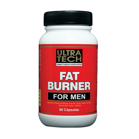 FAT BURNER for MEN x 120 cápsulas - Ultra Tech