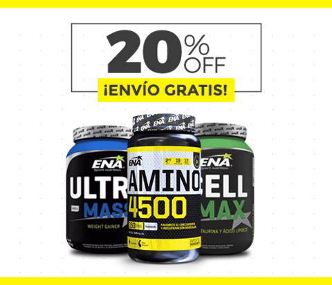 ULTRA MASS + CELL MAX + AMINO 4500 - comprar online