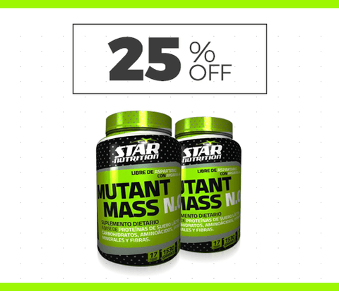 MUTANT MASS N.O. x 1,5 kg - Star Nutrition
