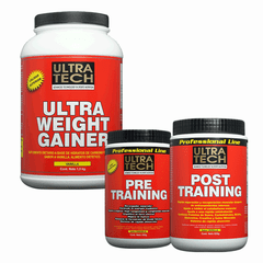 ULTRA WEIGHT GAINER + PRE TRAINING + POST TRAINING - Ultra Tech