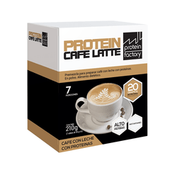 PROTEIN CAFE LATTE x 7 porciones - Protein Factory
