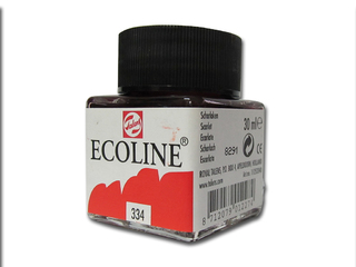 Tinta para dibujo Talens Ecoline 30 ml Color Escarlata 334