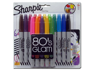 Marcadores Sharpie 80´s Glam Pack x 16