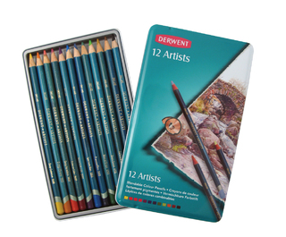 Lapices de colores Derwent Artists x 12