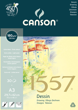 Block Canson 1557 Dessing A3 180g x 30 hj