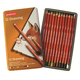 Lapices Derwent Drawing x 12