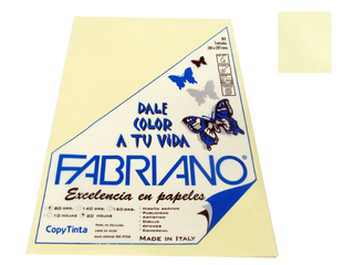 Papel Fabriano Copy Tinta 80 grs. A4 Blister x 20 u. color Onix
