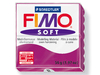 Pasta para modelar Fimo Soft bloque de 56 g color purpura